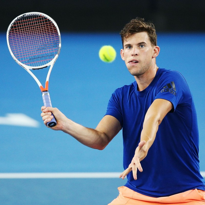 Dominic Thiem's Official Babolat Signed Racket