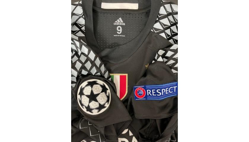 Buffon's Juventus Match-Issued Shirt, UCL 2016/17
