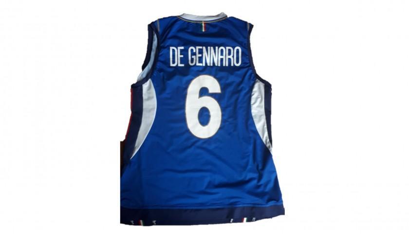 De Gennaro's Italvolley Worn and Signed Jersey