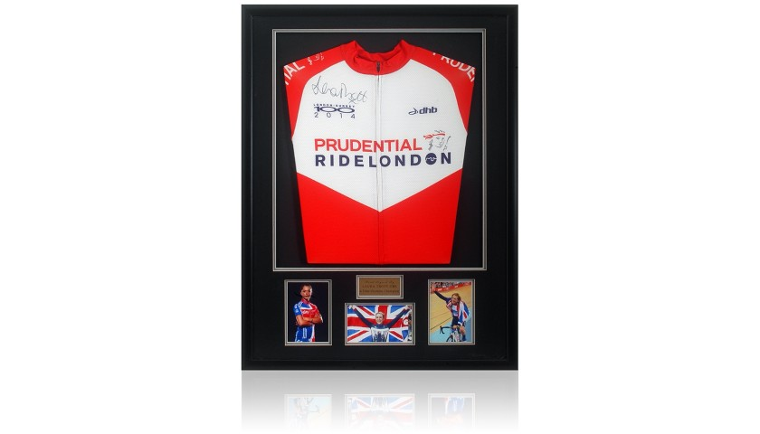 Laura Trott Hand Signed Cycling Jersey