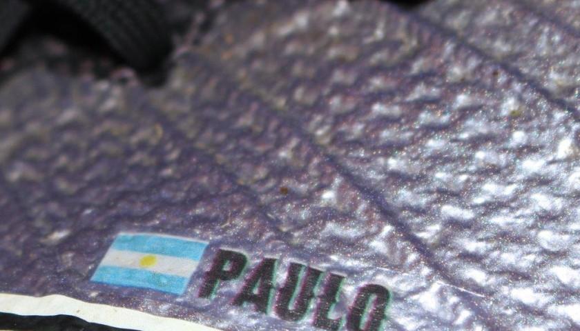 Dybala Juventus shoes, worn 15/16 season - signed