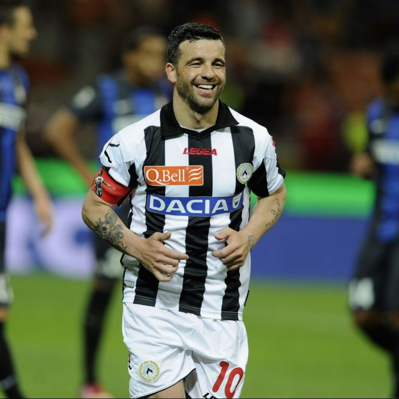Di Natale's Match Shirt, Udinese, 2012/13