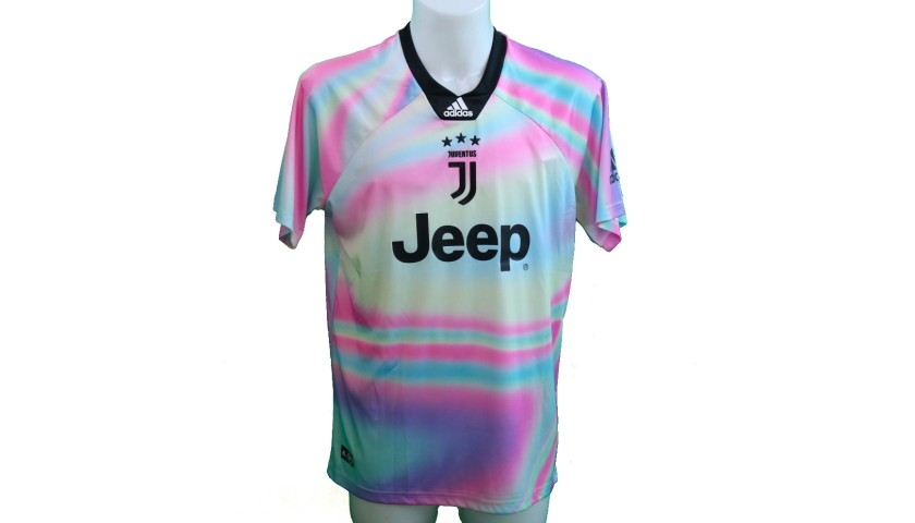 Dybala's Juventus EA Sports Shirt - Signed by the Squad