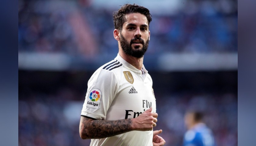 Isco's Real Madrid Match Shirt, Liga 2018/19