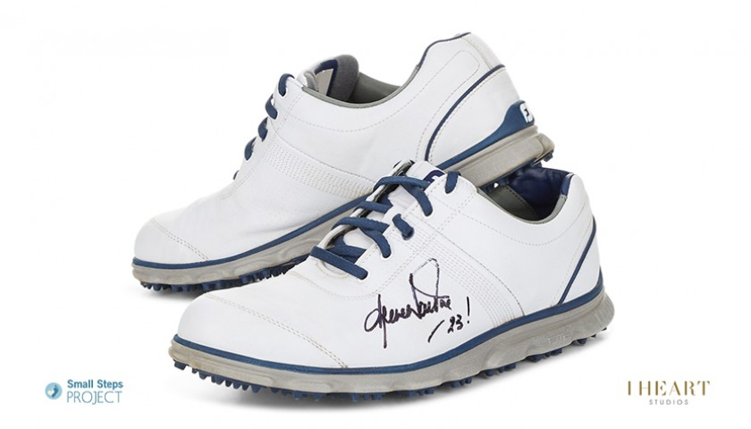Shane Warne Signed Shoes