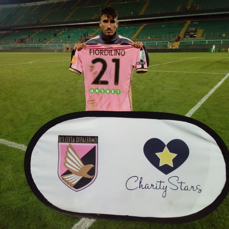 Fiordilino's Worn and Signed Shirt, Palermo-Venezia 2018