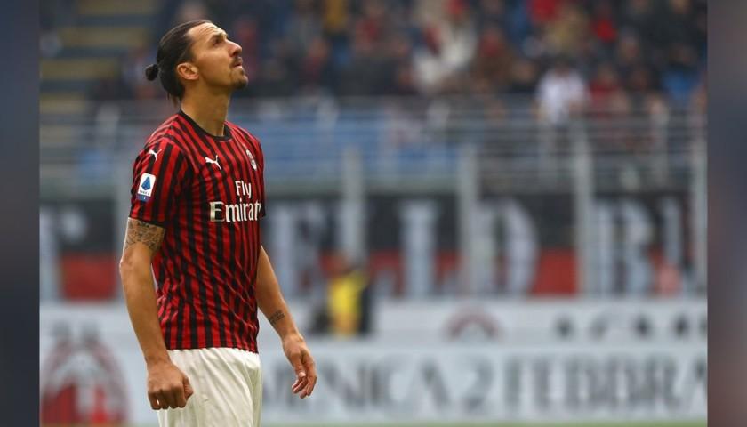 Ibrahimovic's Milan Match Shirt, 2019/20