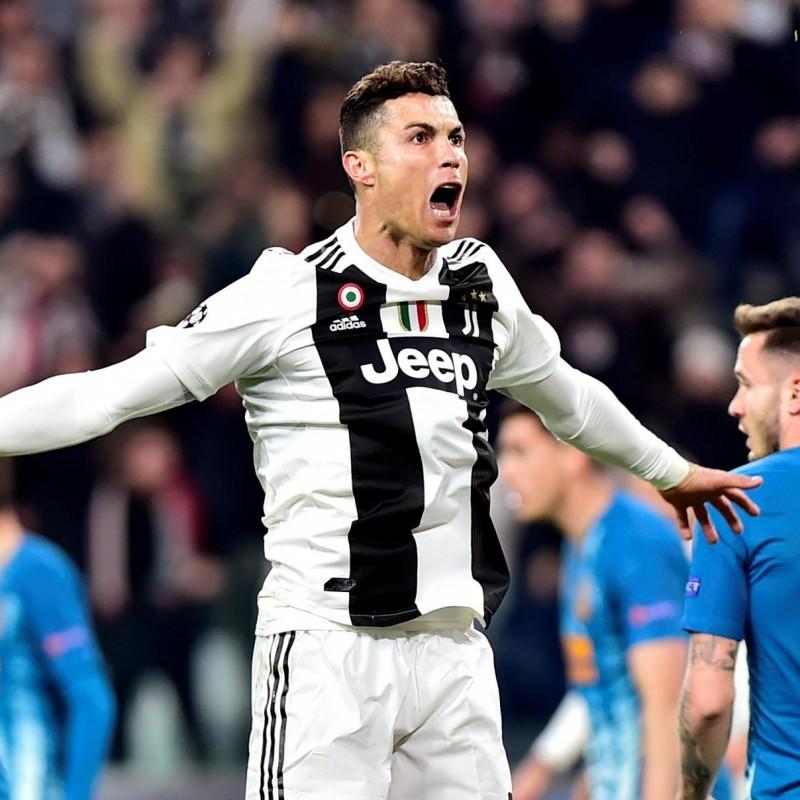 5795f75660c Ronaldo's Juventus Signed Match Shirt, UCL 2018/19