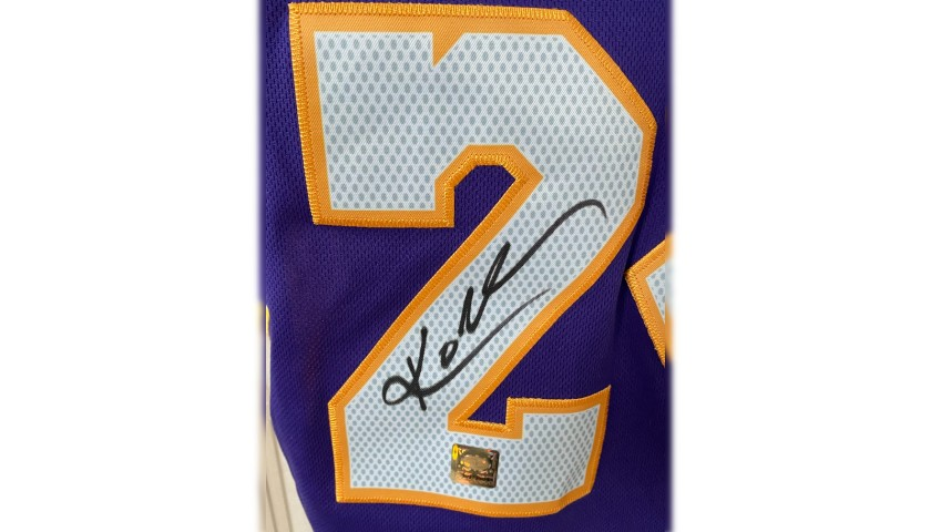 Kobe Bryant's Official Lakers Signed Jersey