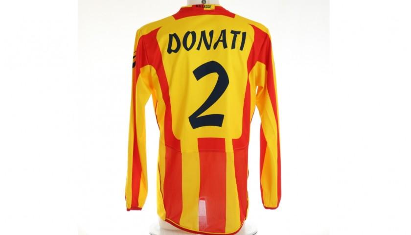 Donati's Match Shirt, Lecce-Milan 2011