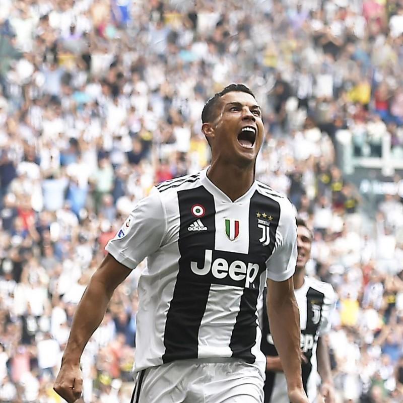 Incontra Cristiano Ronaldo in occasione di un match della Juventus