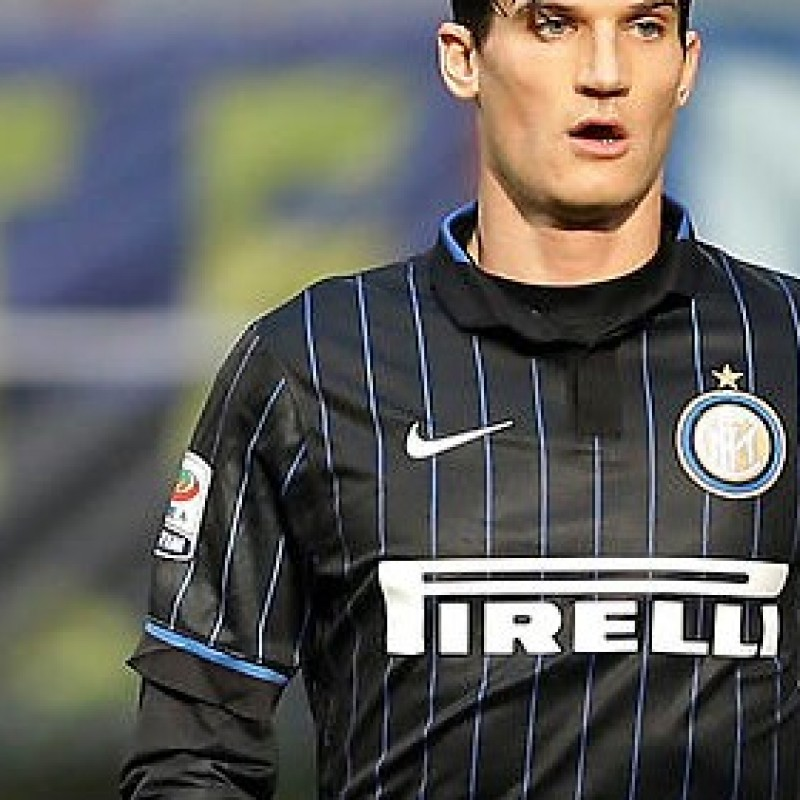 Andreolli Inter shirt, issued/worn, Serie A 2014/2015