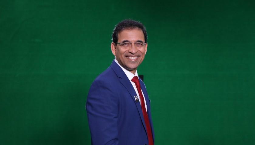 Meet Cricket Presenter & Author Harsha Bhogle via Zoom