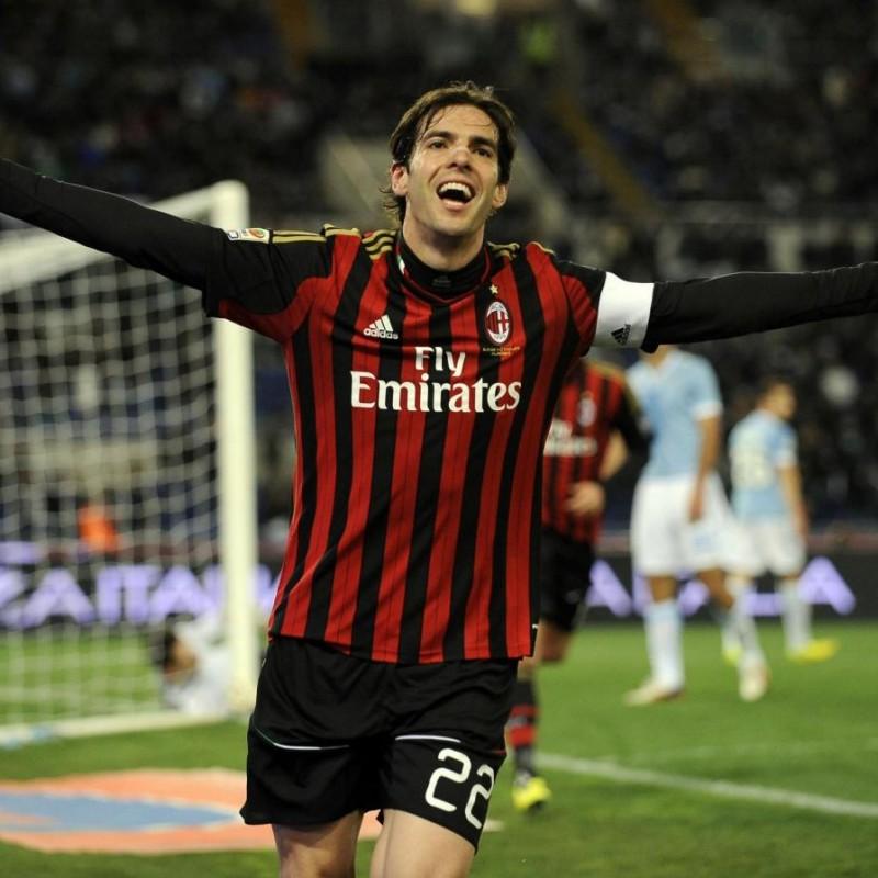 Kaká's Official Milan Signed Shirt, 2013/14