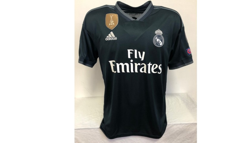 Benzema's Official Real Madrid Signed Shirt, 2018/19