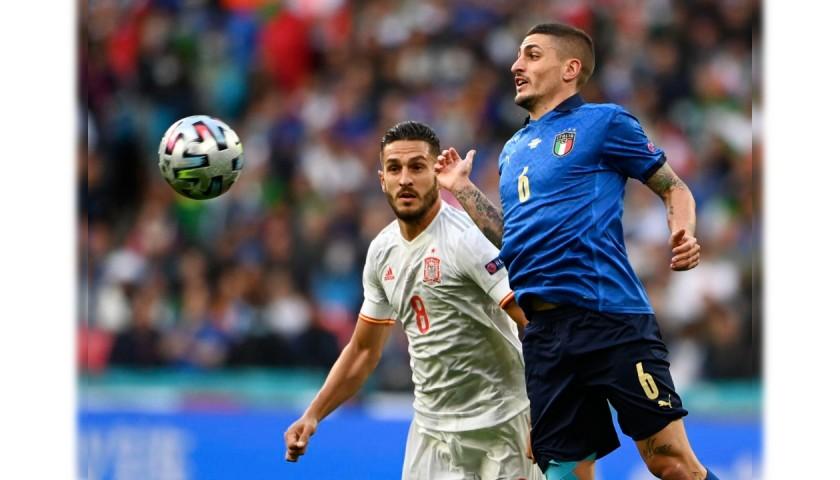 Koke's Match Shirt, Italy-Spain 2021