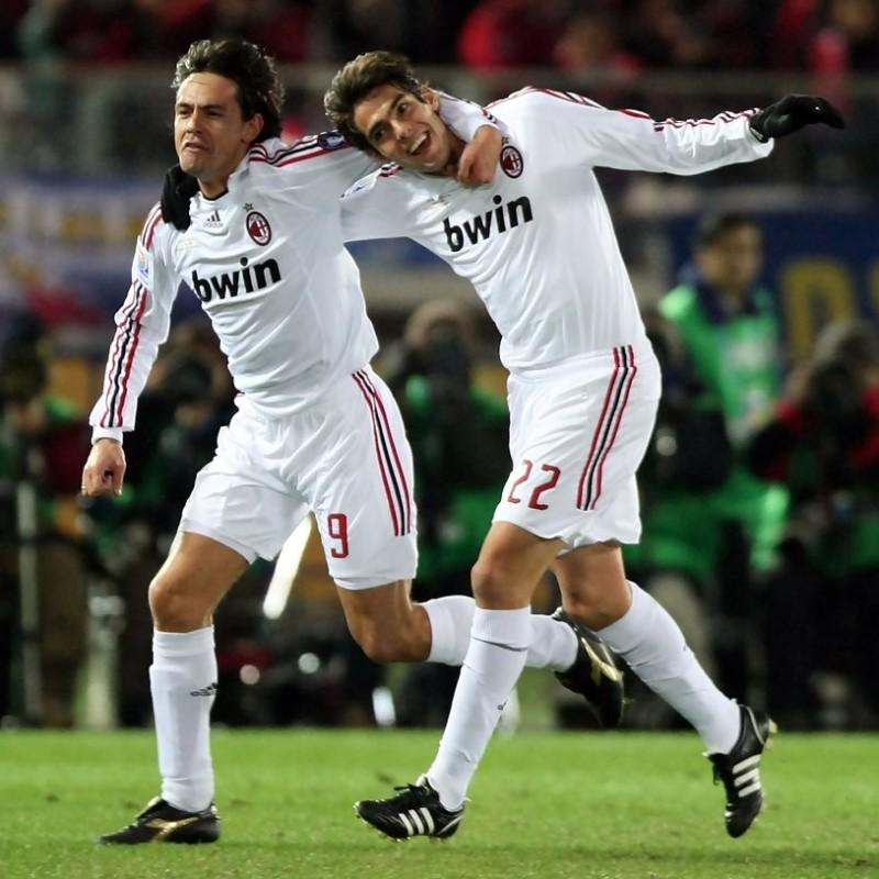 Maglia Kakà Milan, preparata / indossata Serie A 2008/09