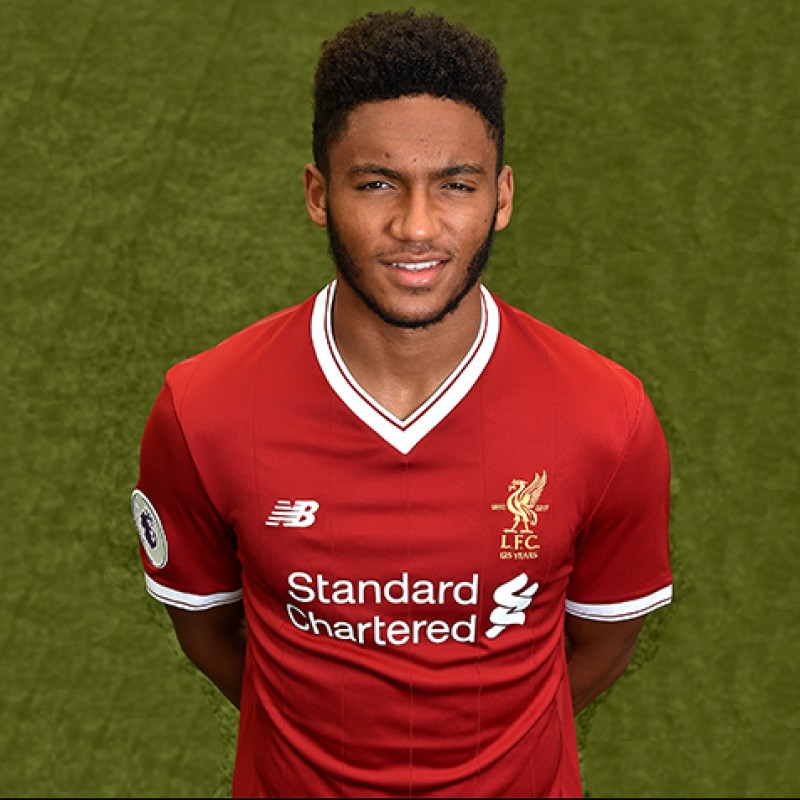 Joe Gomez's Worn and Signed Limited Edition 'Seeing is Believing' 17/18 Liverpool FC Shirt