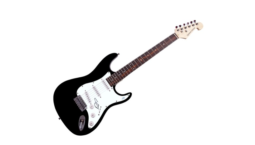 Dave Matthews Band Boyd Tinsley Autographed Guitar