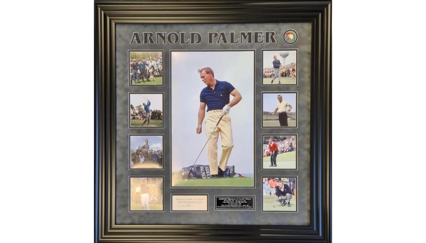 Arnold Palmer Signed Photo Display