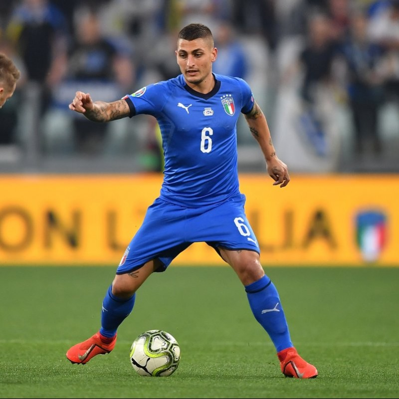 Verratti's Match Kit, Italy-Bosnia 2019