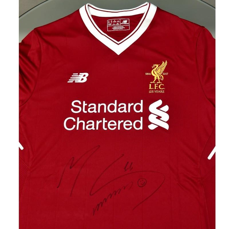 454415c7f Signed Salah LFC 125 home shirt - CharityStars