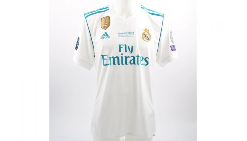quality design 253b5 8a864 Kroos' Real Madrid Match-Issue Kiev 2018 Final Shirt - CharityStars