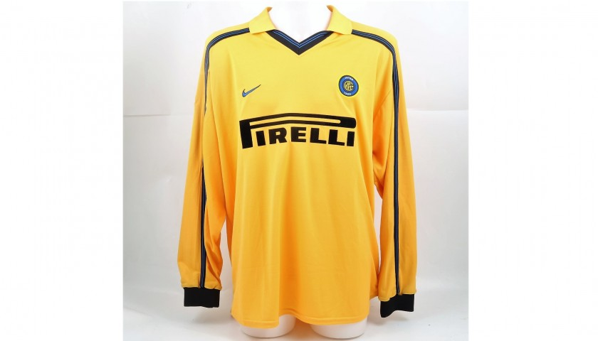 buy online 9e755 1f478 Mutu's Match-Worn Inter Shirt, Coppa Italia 1999/2000 - CharityStars