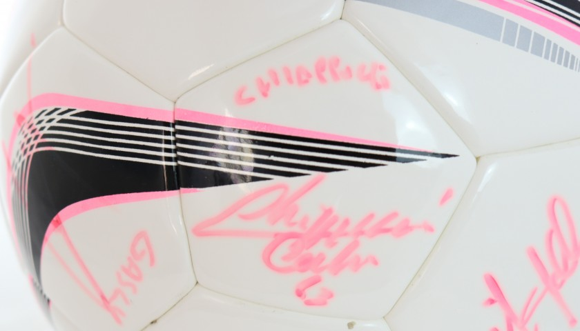 """Derby del Cuore"" Signed Matchball"