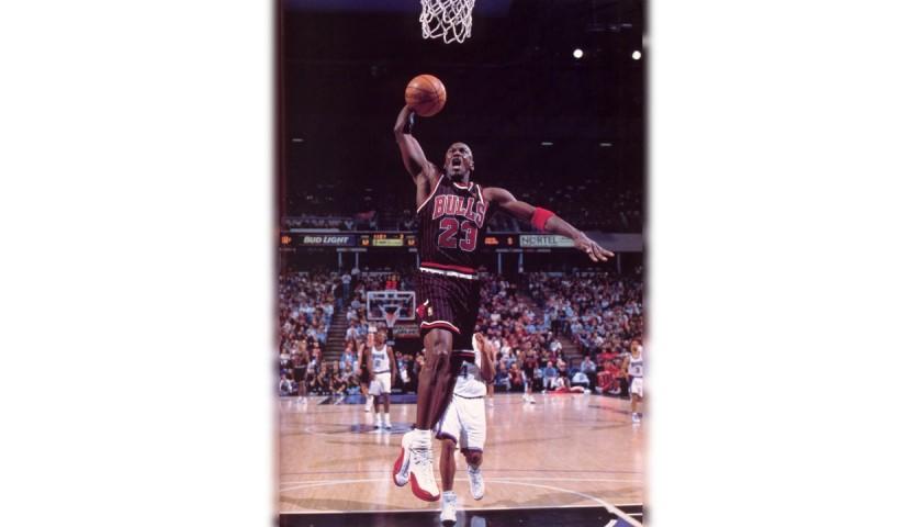 Jordan's Official Chicago Bulls Signed Jersey