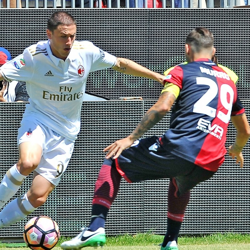 Murru Worn Shirt, Cagliari-Milan - Special UNICEF Patch