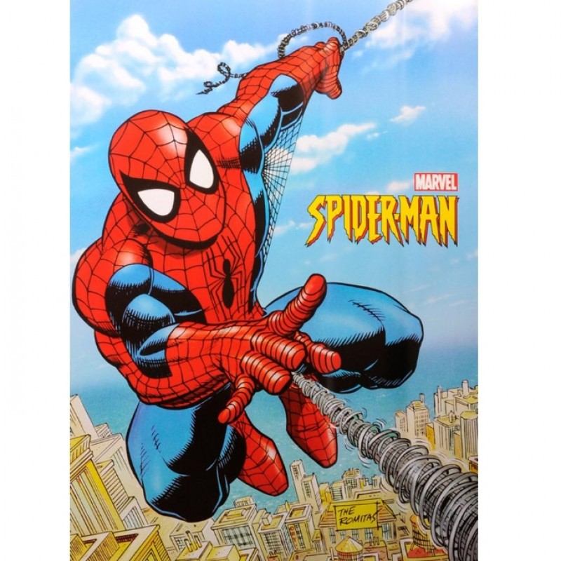 Super Rare Spider-Man Marvel Original Promo Poster