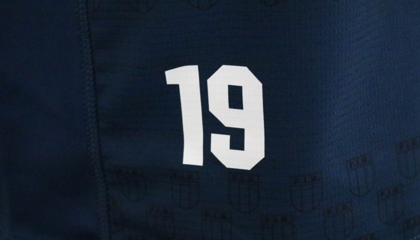 Pair of FIR Rugby Training Shirts - Number 19