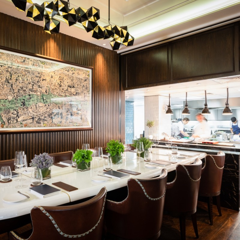 Chef's Table for 10 at Marcus Wareing's Michelin-Starred Marcus