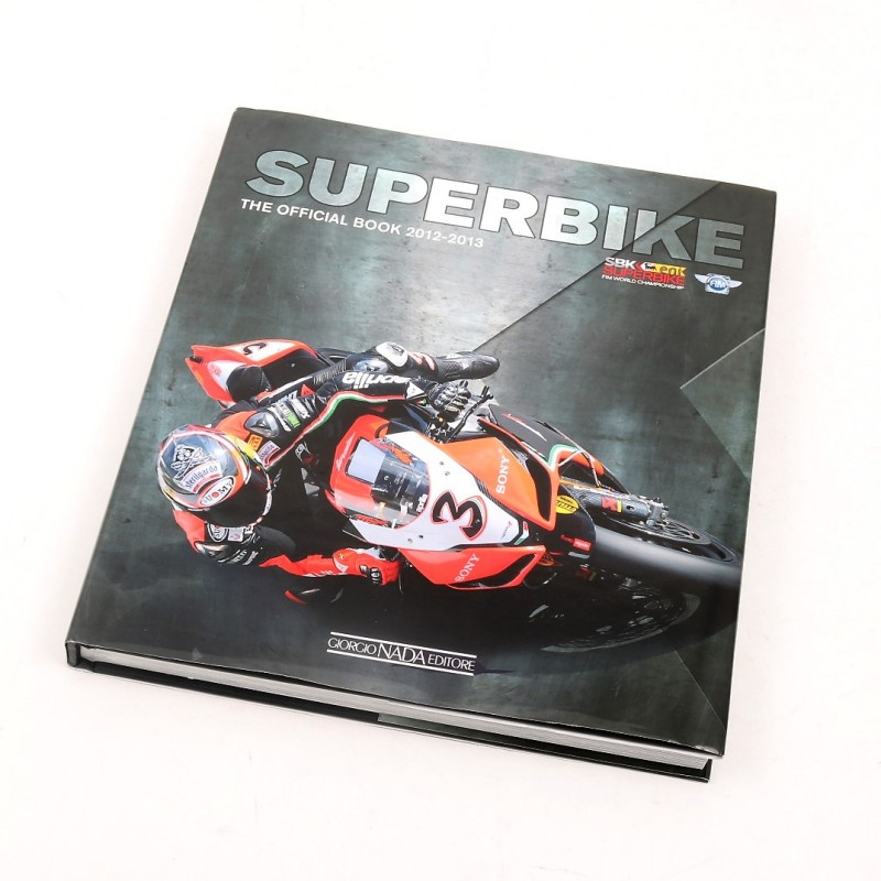Official 2012/13 Superbike Book Signed by SBK Racers