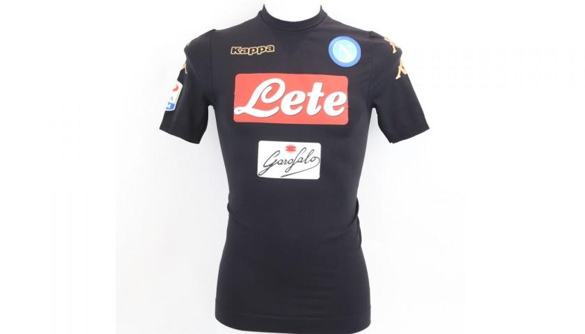 Hamsik's Napoli Worn and Signed Shirt, 2016/17