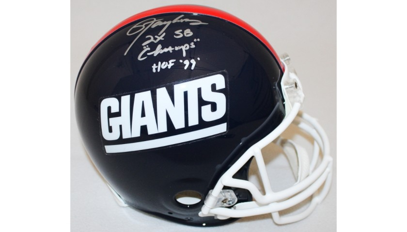 Lawrence Taylor Signed Giants Super Bowl Champs Helmet