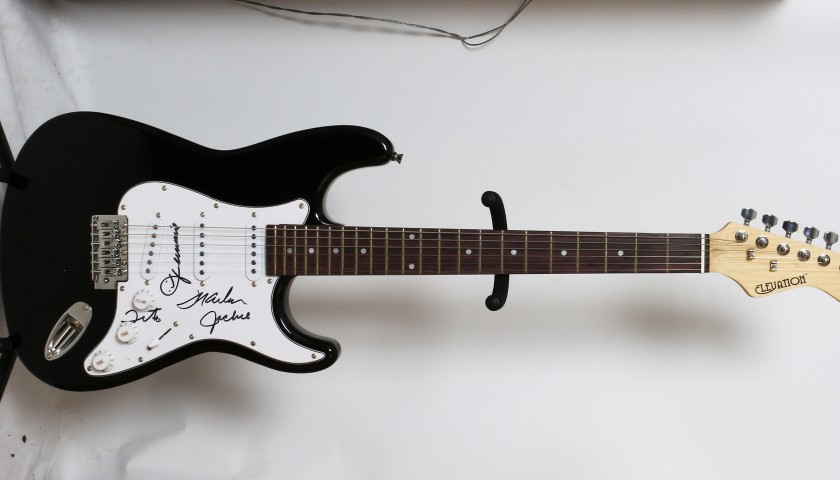The Jacksons Signed Electric Guitar