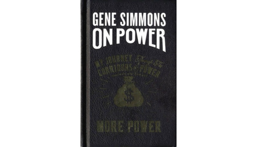 """Gene Simmons """"KISS"""" Hand Signed Book"""