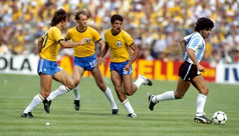 Maradona s Match-Worn Puma Cleats 13c35a309