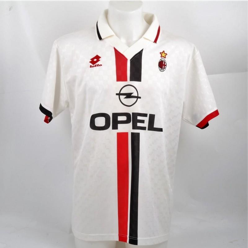 Baresi's Match-Worn, 1995/96, Bayern Munich-Milan Shirt