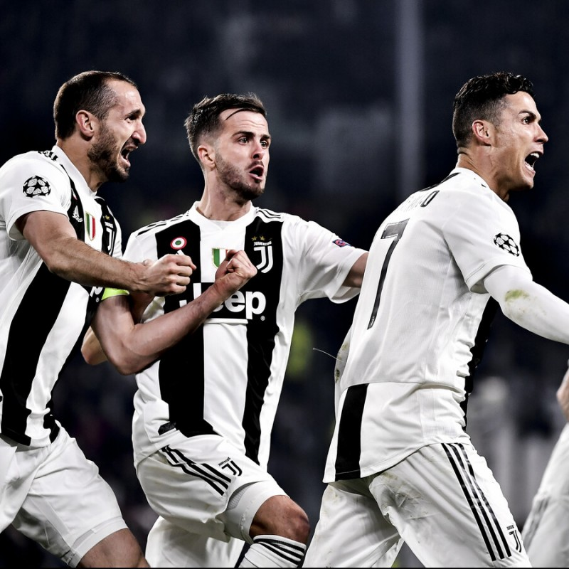 Enjoy the Juventus-Ajax Quarter Final from Row 3 of the Allianz Stadium in Turin