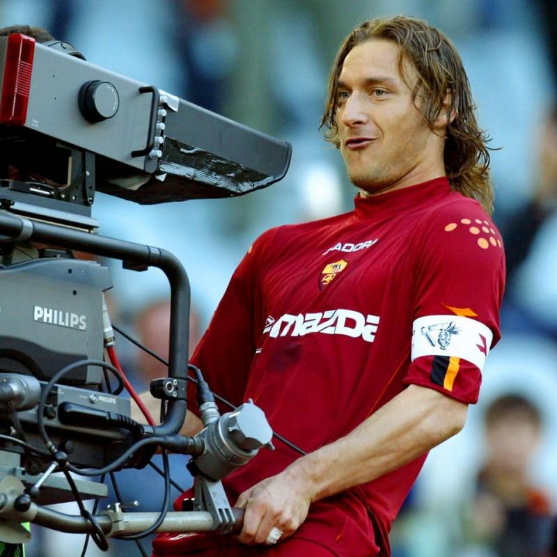 Totti's Roma Match-Issue/Worn Shirt, 2003/04 Season