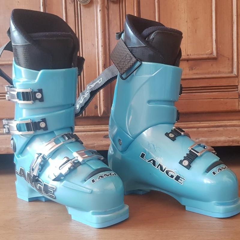 Kristian Ghedina's Lange Ski Boots