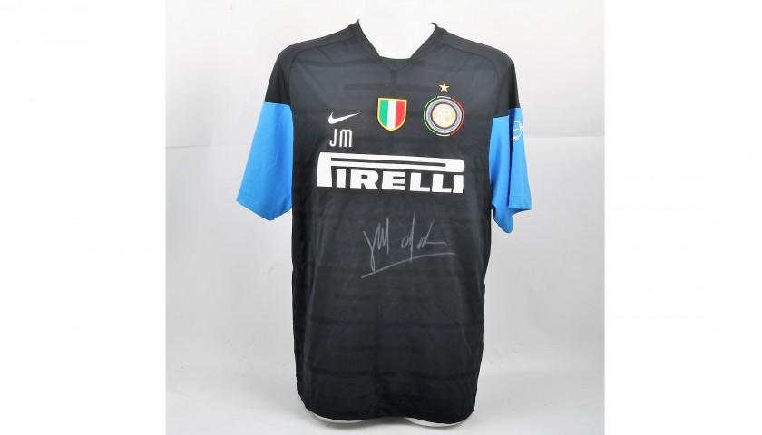 new products eb1a0 58bc7 Mourinho's Signed Inter Training Shirt, 2009/10 - CharityStars