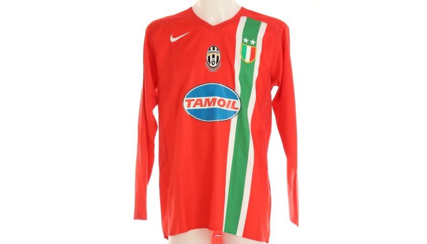Giannichedda's Juventus Match Shirt, 2005/06
