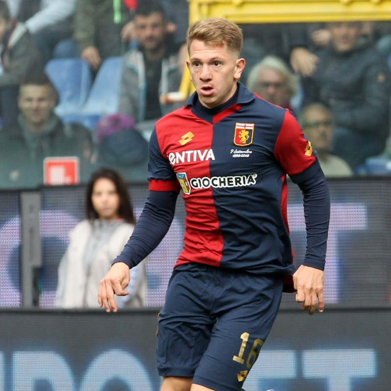 Shirt Worn by Rolon for the Genoa-Juventus Match