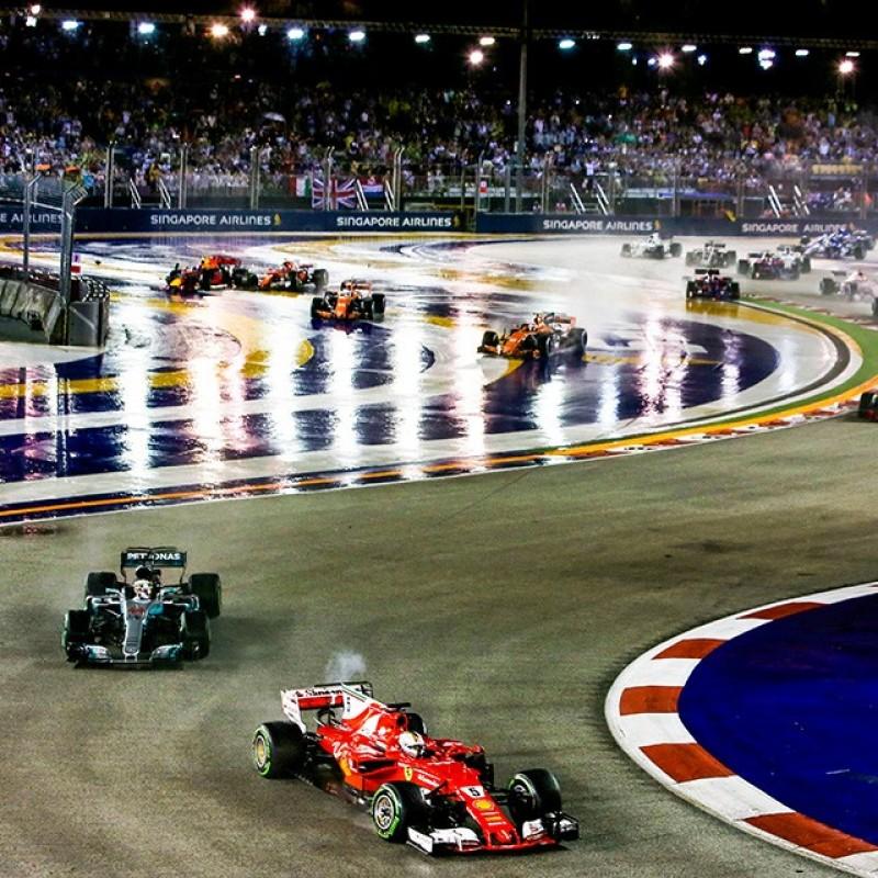 Weekend al Gran Premio di Singapore per 2 persone