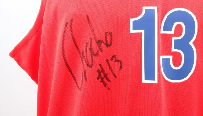 b69a7da5177 Official CSKA Moscow Jersey Signed by Rodriguez, Turkish Airlines EuroLeague
