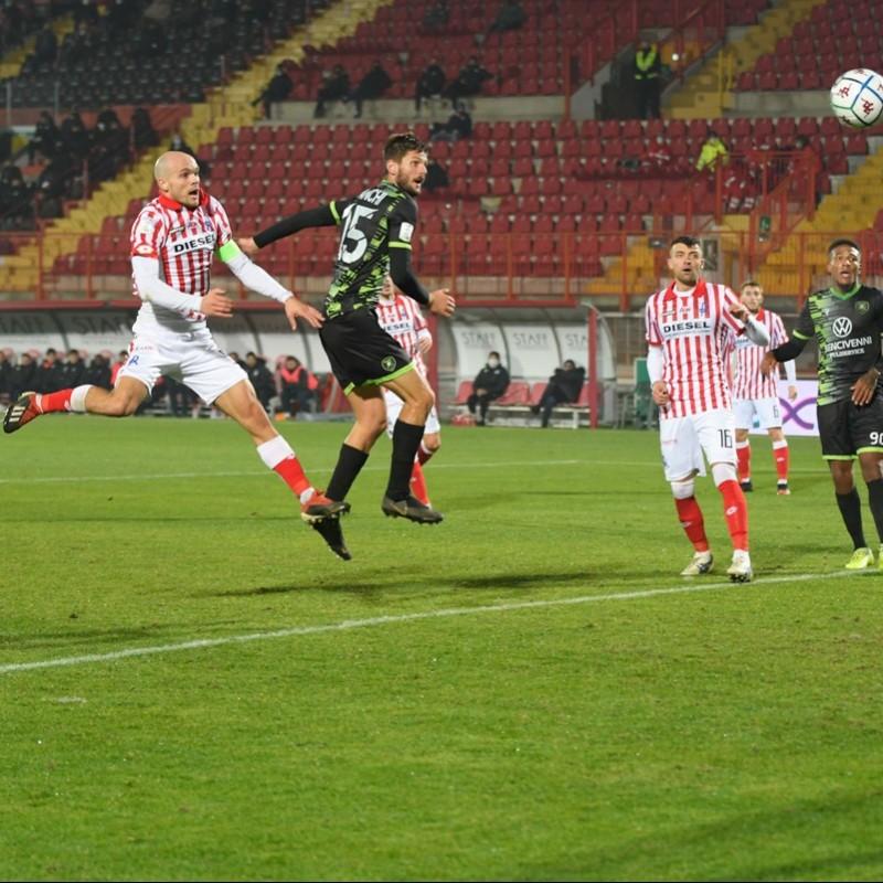 Bizzotto's LR Vicenza Signed Match Shirt, 20/21